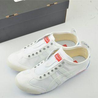 Asics 亞瑟士Mexico 66 Slip-On 鬼冢虎一腳蹬 白紅 男女鞋