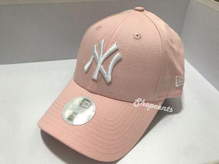 🎟🎟全新New Era 女裝粉紅Yankees Cap帽