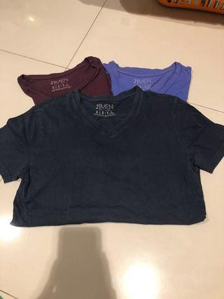 3 items kaos Forever 21