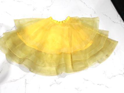 Rok Tutu yellow