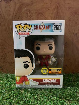 Funko Shazam GITD (Hot Topic Exclusive)