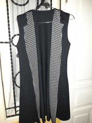 Black outer vest
