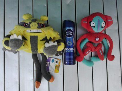 Set pokemon rare stuff toys collection display