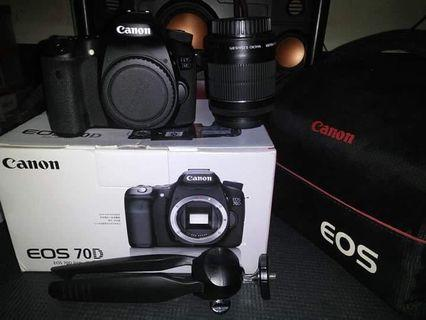 CANON 70D 18-55mm stm, 32gb, Original