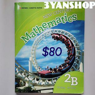 OXFORD New Century Mathematics 2B $80