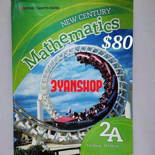 OXFORD New Century Mathematics 2A $80