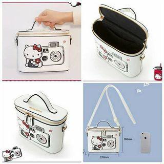 Hello Kitty White Sling/Hand Bag