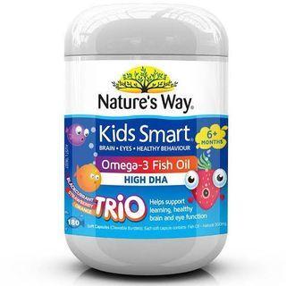 Nature's way omega 3 fish oil kids smart
