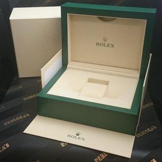 Rolex watch authentic box