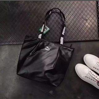🚚 Puma 時尚休閒運動手提包(黑色)