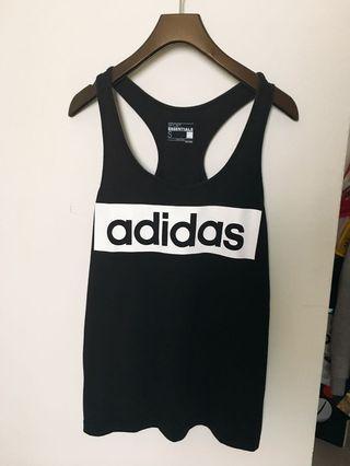 🚚 (已預定/勿下標)Adidas logo黑t+zara 桃紅背心