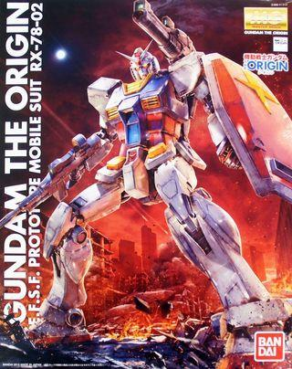 MG高達模型 Gundam the Origin RX-78-02 原祖高達 1/100