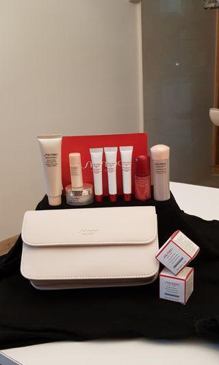 Shiseido travel kit