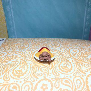 🚚 Poodle Figurine - Poodle in Omurice