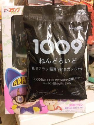 全新 未開封 Goodsmile Nendoroid 黏土人 1009 IQ博士 則卷小雲 貓耳 Ver. (特典日版)