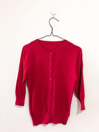Red Candies Cardigan