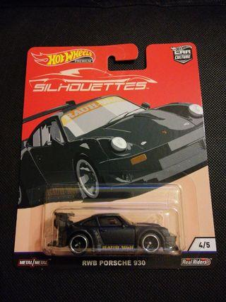 Hot Wheels RWB Porsche 930 Silhouettes (reserved)