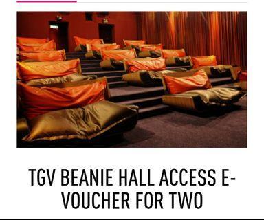 Tgv beanie voucher for 2