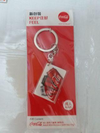 Limited Edition Coke 迷你八達通 with key ring