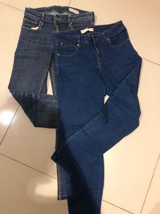2 items celana jeans kids