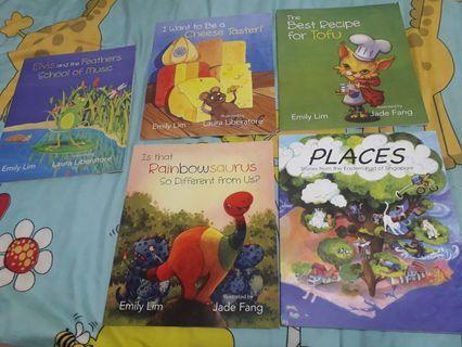 🚚 5 Storybooks in a bundle