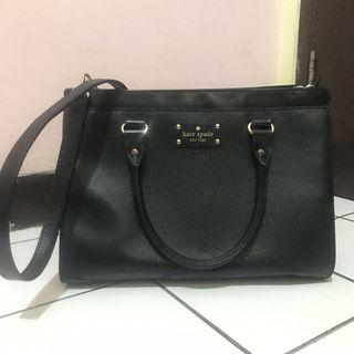 Kate Spade black large authentic