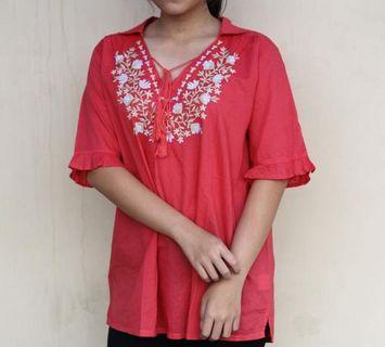 blues red