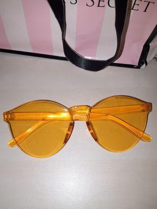 Orange Trendy Sunglasses
