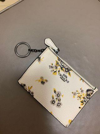 Coach card holder coins purse
