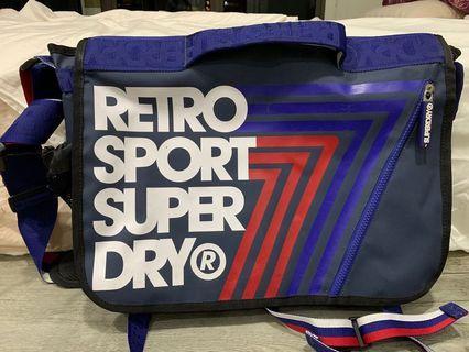 Superdry laptop sling bag