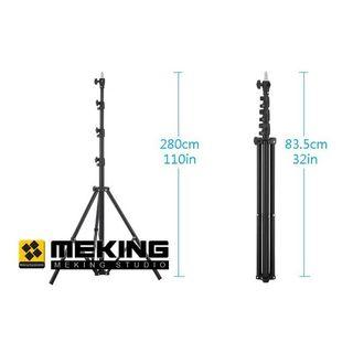 Meking 280cm 9.2ft Light Stand support system tripod L-2800FP Air Cushion Lightstand load capacity 3kg
