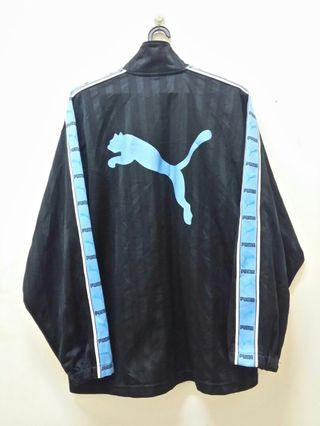 Puma SideTape Blue Big Logo Sweater.