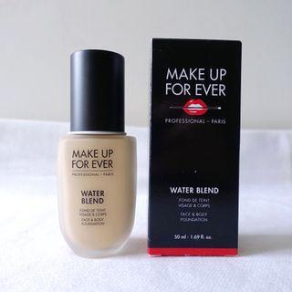 Make up for ever浮生若夢WATER BLEND恆久親膚雙用水粉霜粉底液50ml Y225