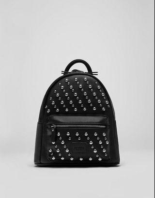 pull&bear studded small backpack