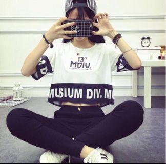 🚚 韓版時尚百搭短袖T恤
