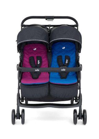 Joie Aire Twin Stroller (Almost brand new)