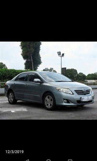 Altis for rent