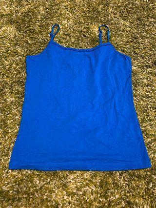 女裝藍色吊帶背心 Ladies top (blue)