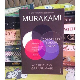 Haruki Murakami 1q84, norwegian wood, a wild sheep chase, colorless tsukuru tazaki