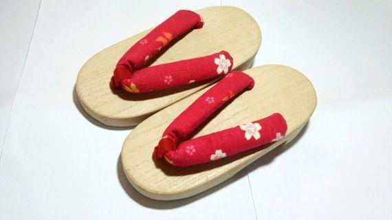 日式櫻花木屐 3-4歲女童適用 (16.5cm)