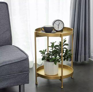 (PO) DZL Iron Side Table
