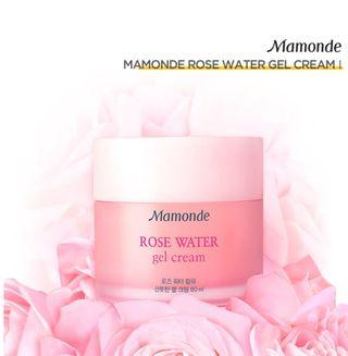 40% Mamonde Rose Water Gel Cream | 100% Authentic