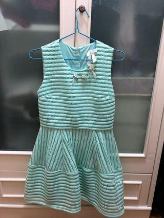 Bread n butter淺綠色連衣裙