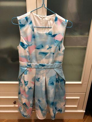 Bread n butter 藍色連衣裙