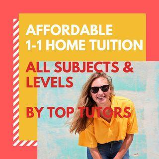 Experienced & Affordable 1-1 Home Tuition