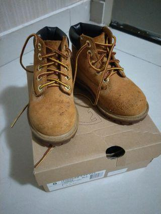 TIMBERLAND YELLOW BUTS (preloved authentic) #MGAG101