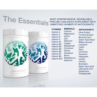 Usana CellSentials - Vita Antioxidant & Core Mineral