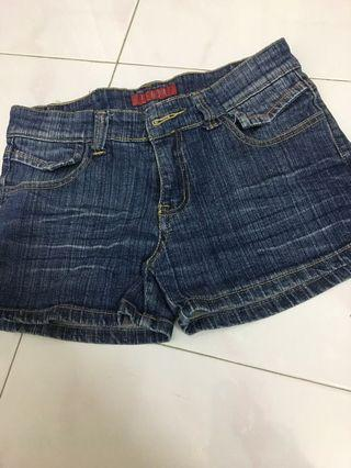 Fenda denim shortd