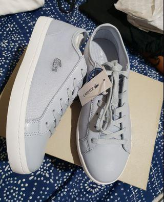 Lacoste grey shoes