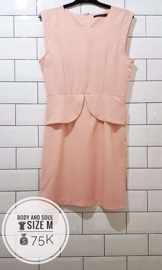 Body and Soul Peach Dress